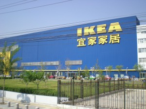 China has 90 cities with populations over one million people.  Ikea, while hugely successful in China, has 15 stores in the whole country.