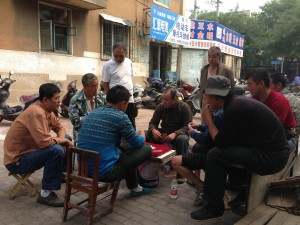 A majority of Chinese men smoke and drink.  But everyone seems to know something about health and nutrition.