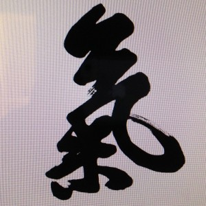 The very traditional Chinese character for qi or life force.  I don't know about you but I can definitely see the resemblance to my own life.