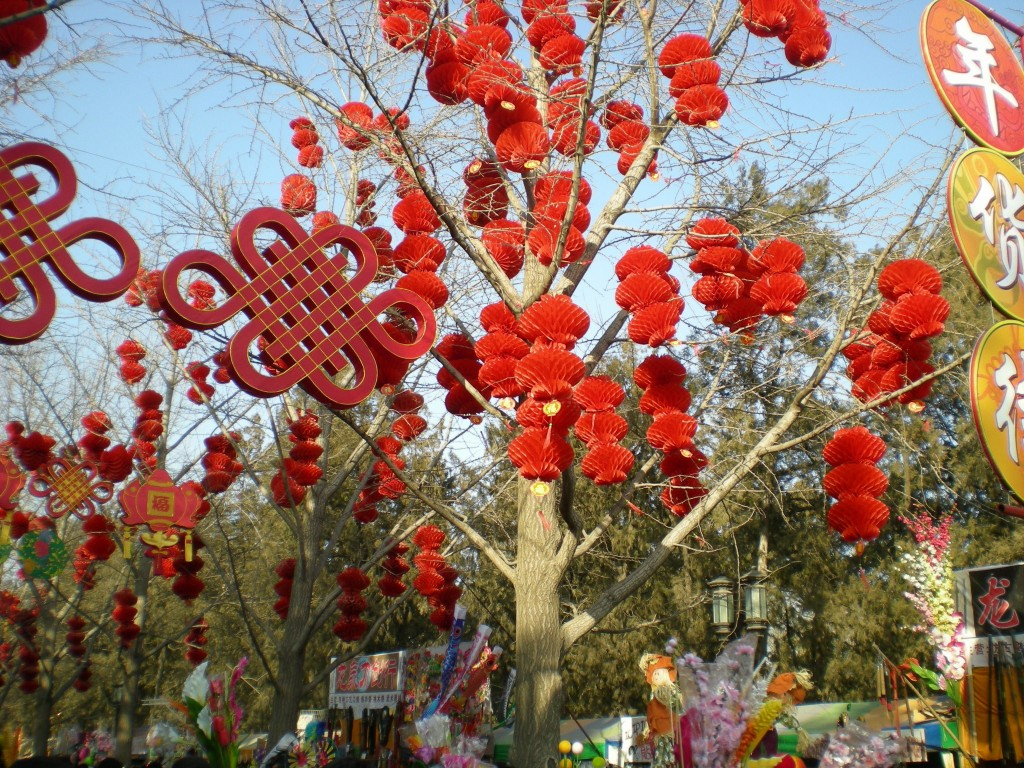 Spring Festival is quite literally a feast for all of the senses.