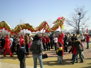 Hollywood has made the dragon dance a virtual logo of all things Chinese.