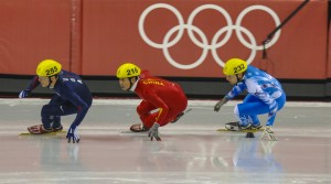 China is a powerhouse in short track skating.