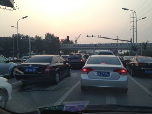In 2011 750,000 new cars were registered in Beijing alone.  In 2014 the government will issue only 110,000 new plates for non-electric vehicles.