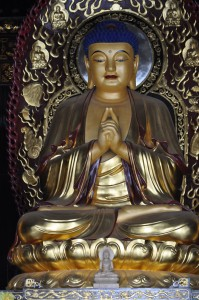 Ancient Buddhist temples are everywhere in China and are actively used and visited.