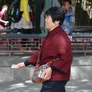 Some design patterns and prints are distinctly Chinese, and understandably favored, particularly by older Chinese.