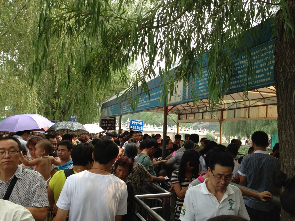 For reasons having little to do with civility, the Chinese generally don't honor queues.  But they would never pay for the chance to cut.  It wouldn't be right.