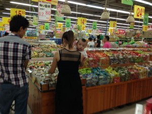 Commerce, of course, is part of every Chinese holiday.  Bargains abound.